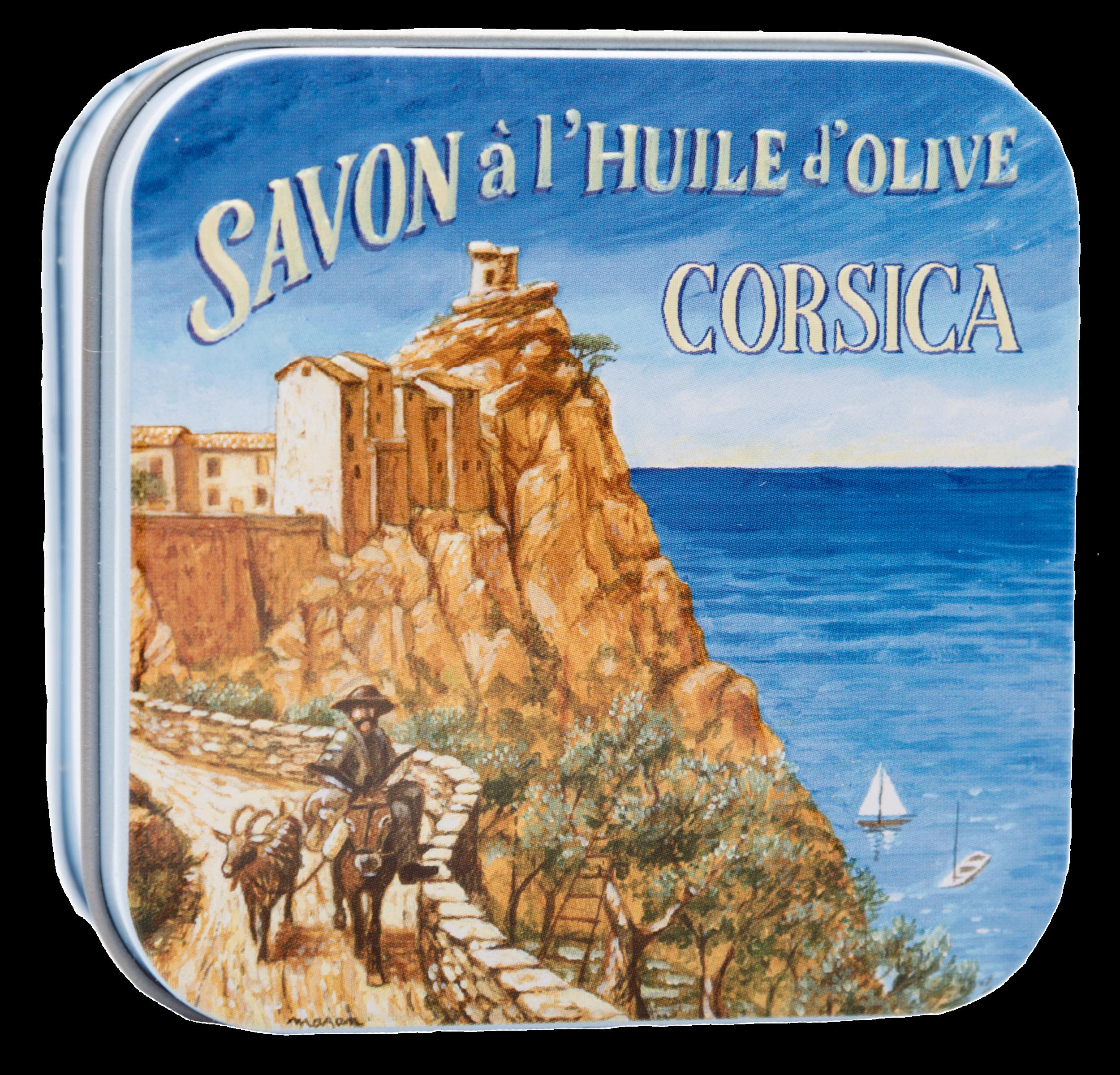 Metallbox 100g - Küste von Korsika