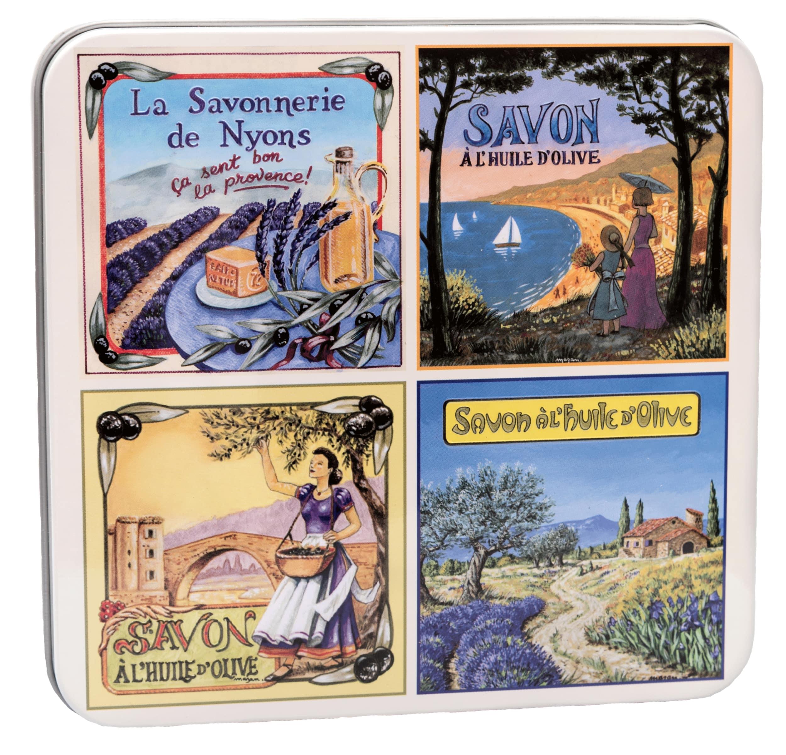 Metallbox 4x 100g - Vue de Provence