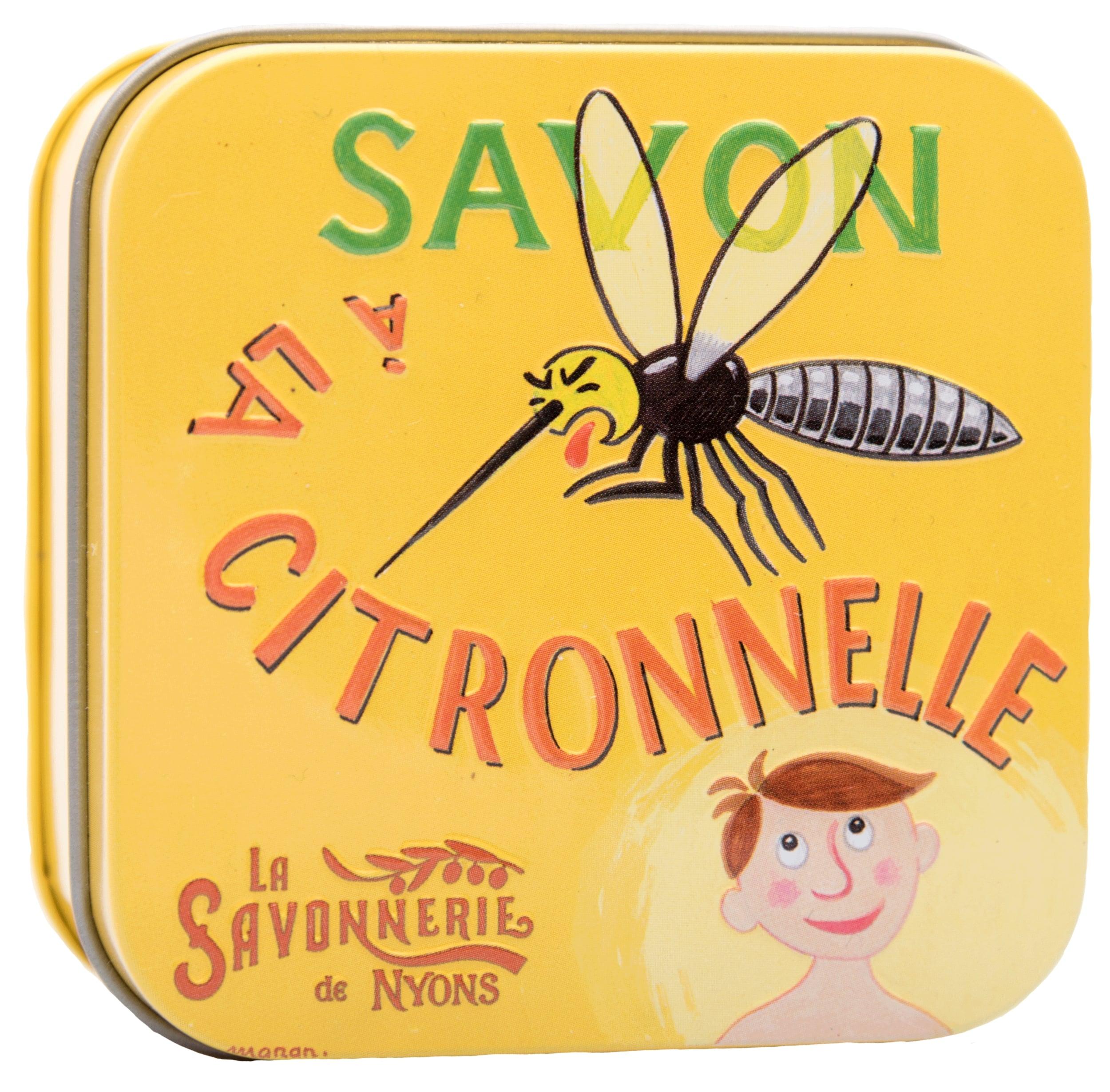 Anti-Mücken Zitronengras-Seife in Metallbox - 100g