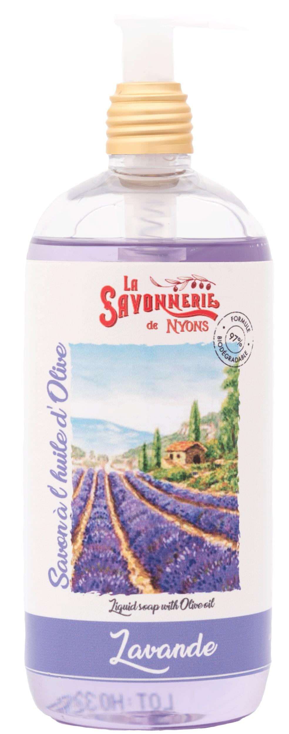 Flüssigseife mit Dosierpumpe 500ml - Lavendel