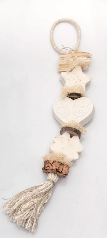 Seifen-Zopf Glück - Baumwollblüte