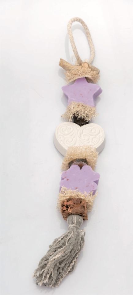 Seifen-Zopf Glück - Lavendel