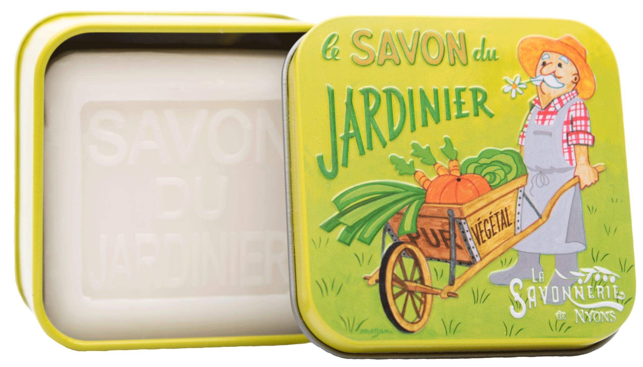 Gärtner-Seife in Metallbox - 100g